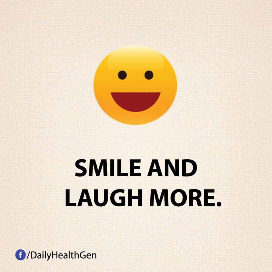 Ridi e sorridi di più.